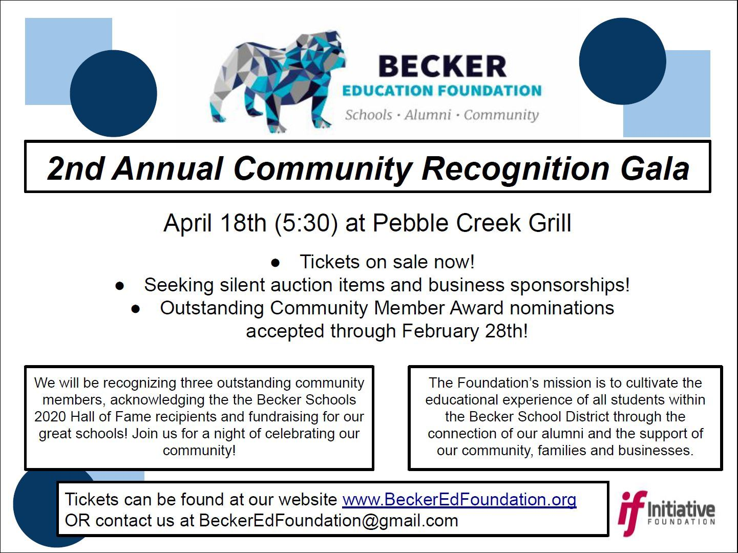 Community Recognition Gala