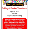 Volunteer Recognition Day 2017