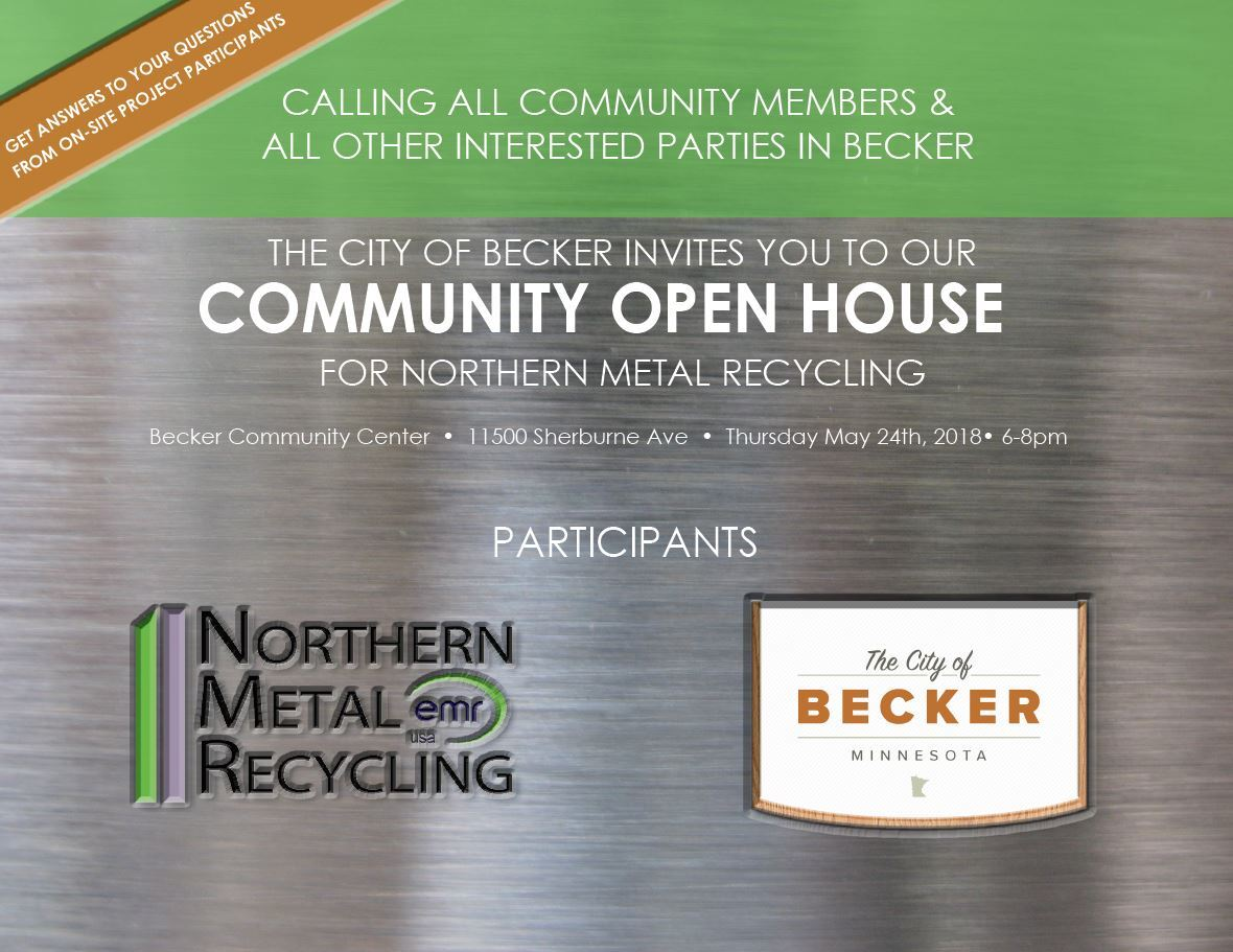 Northern Metal 5.24.18 Open House Flyer