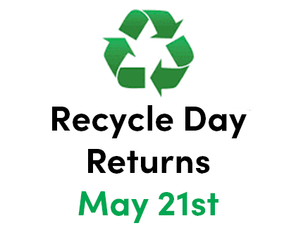 Recycle Day May 15th
